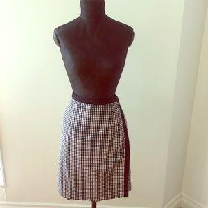 Vintage reversible skirt